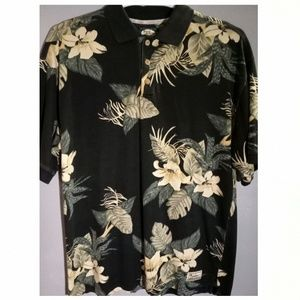 Tommy Bahama Men's Large polo style shirt